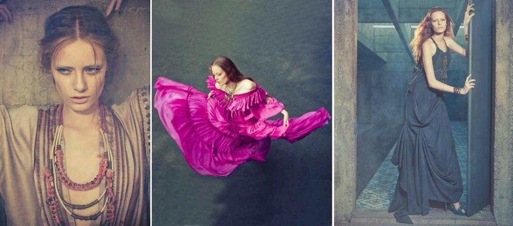 Setembro 2011: A modelo Thairine Garcia de apenas 13 anos de  idade posa para a campanha de Verão 2012 da marca brasileira Cris Barros