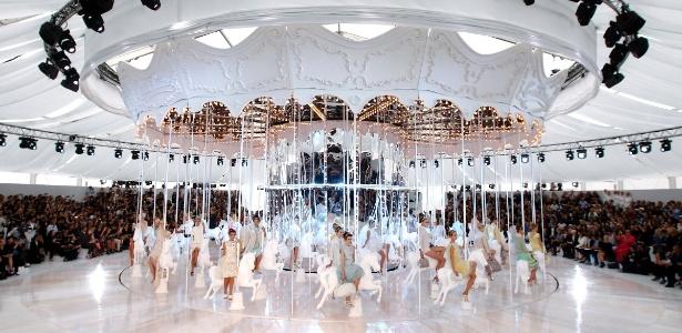 Apresentação da Coleção 2012 da Louis Vuitton em Paris