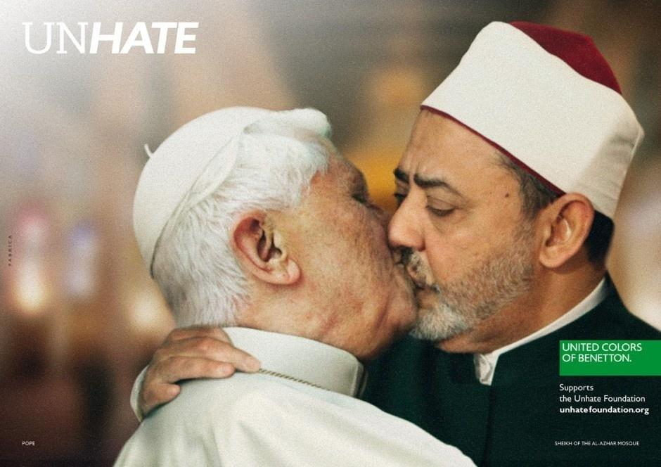 Novembro 2011: A Benetton lançou campanha polêmica para promover o
