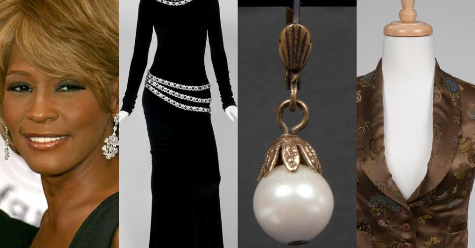 A Julien´s Auction realizará o leilão 'Hollywood Legends' de 31/3 a 1/4 (LA). Um vestido, um par de brincos e um colete - os dois últimos do filme