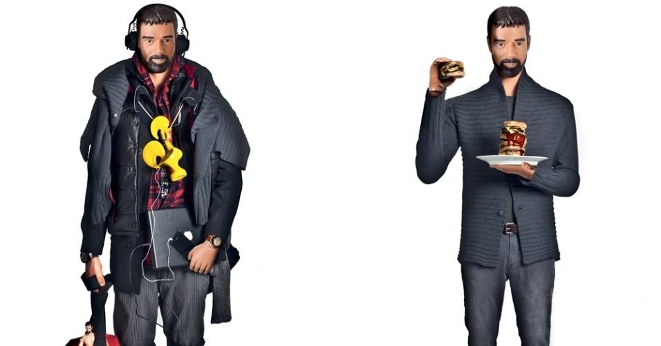 Março 2012: A campanha de Inverno 2012 da Reserva satiriza preconceitos, falta de originalidade e engessamento de padrões, transformando modelos em bonecos plastificados
