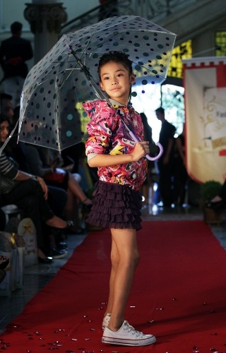 A Diesel também apresentou sua coleção para o Inverno 2012 durante o Fashion Kids (21/03/2012)
