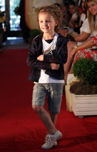 A Hommer também apresentou suas apostas para a moda infantil no próximo inverno durante o Fashion Kids (21/03/2012)