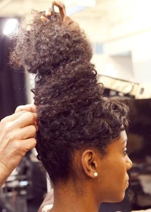 Penteado cabelo afro 14
