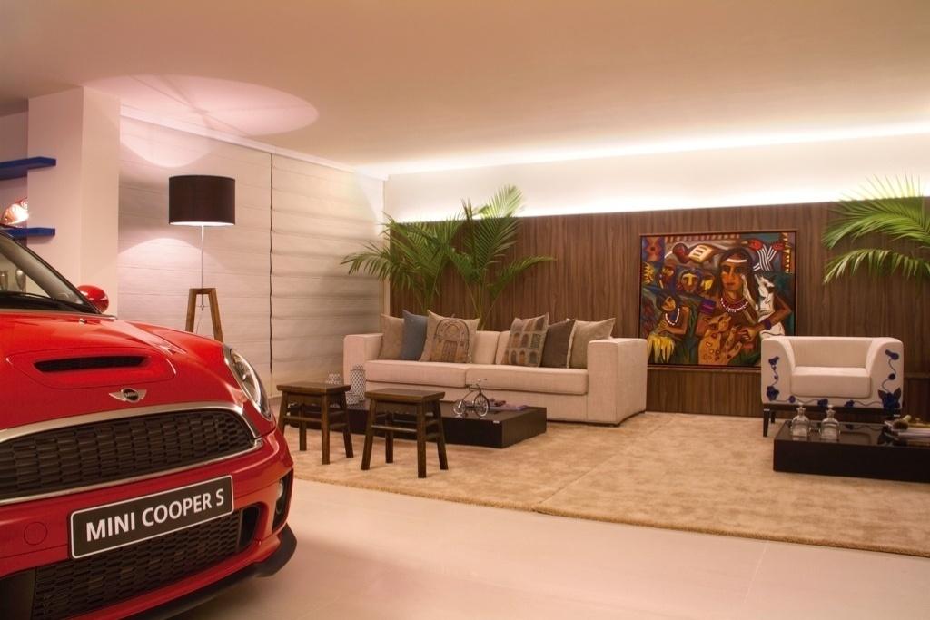 Morar Mais por Menos - Goiás - 2012. Garagem com arte - arquiteto William Hanna