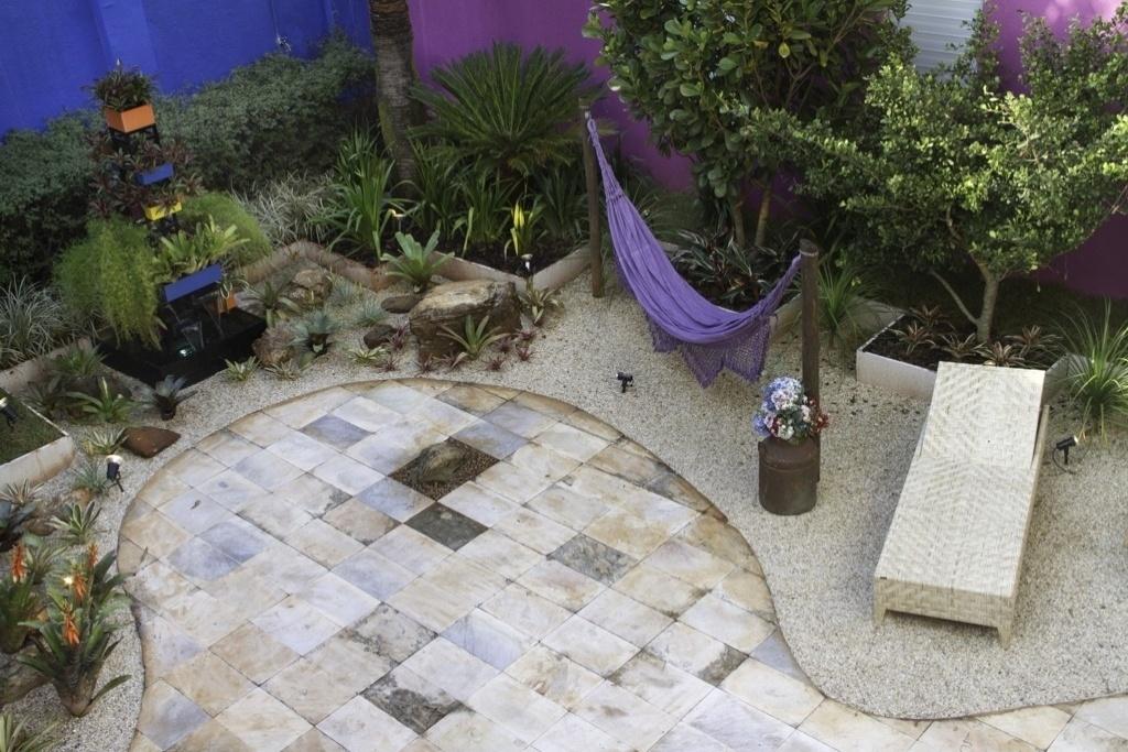 Morar Mais por Menos - Goiás - 2012. Jardim do restaurante - arquiteta Suny Vieira e engenheiro agrônomo Marcelo Bueno