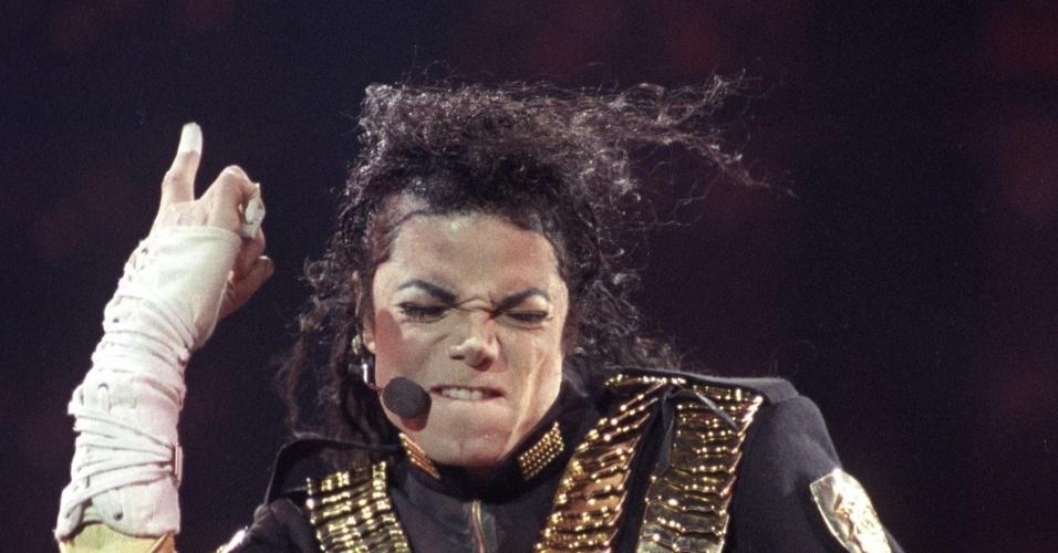 Michael Jackson apresenta a turnê