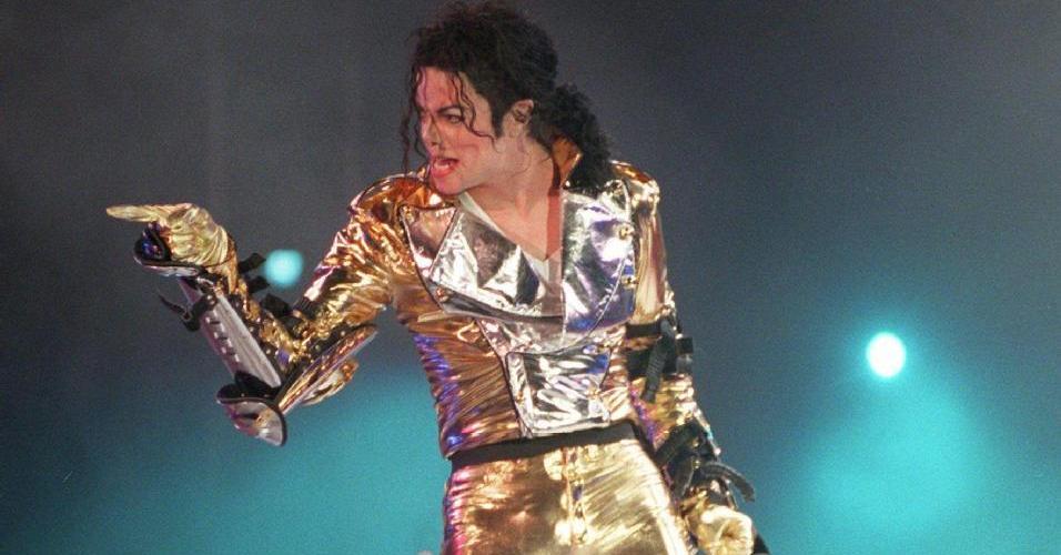 Michael Jackson no primeiro show da turnê de