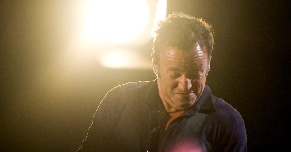 Bruce Springsteen se apresenta no festival Glastonbury, realizado na Inglaterra (27/06/2009)