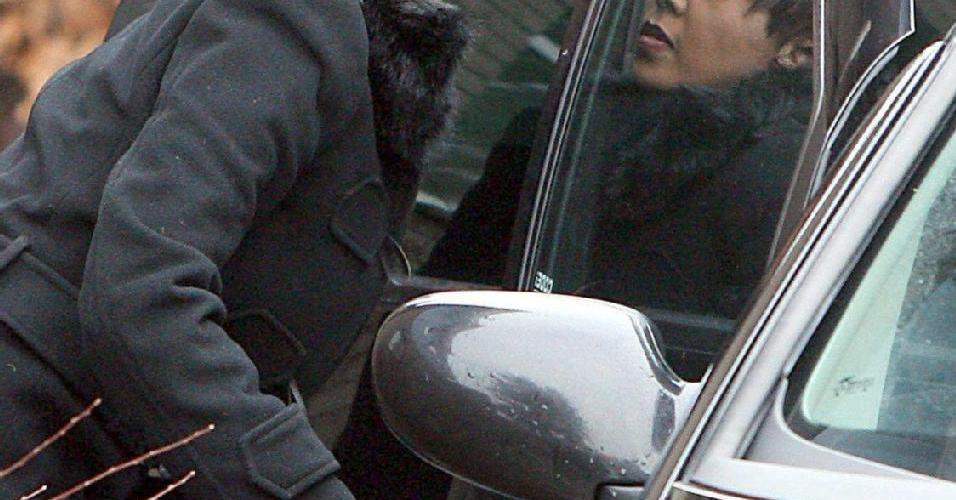 Grace Rwaramba, ex-babá dos filhos de Michael Jackson, na Alemanha (30/01/2006)