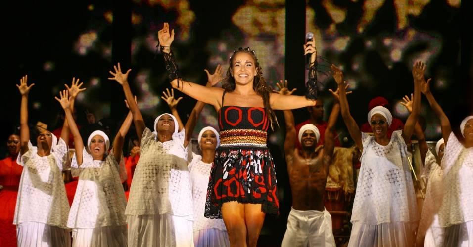 A cantora baiana Daniela Mercury