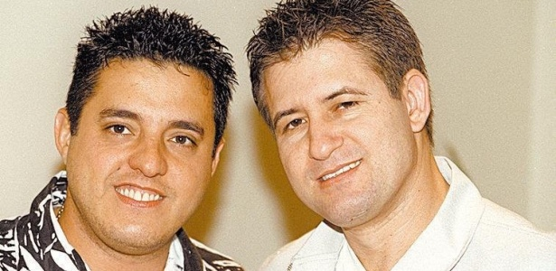 A dupla sertaneja Bruno & Marrone (27/06/2002)