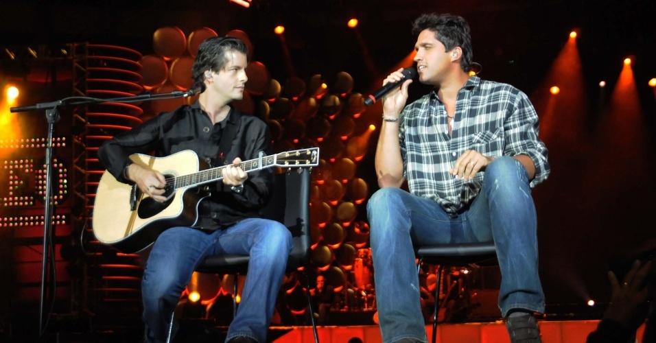 Victor & Leo grava DVD ao vivo em São Paulo, no Ginásio Ibirapuera (23/09/2009)