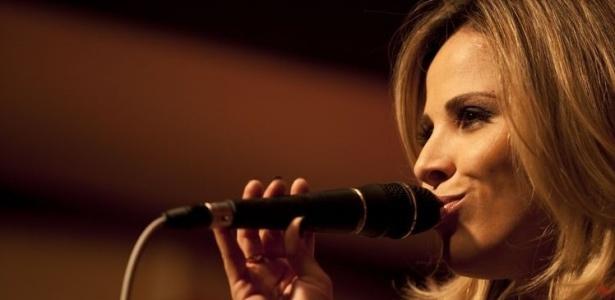 Cantora Wanessa durante gravação do UOL Megashow (22/10/2009)