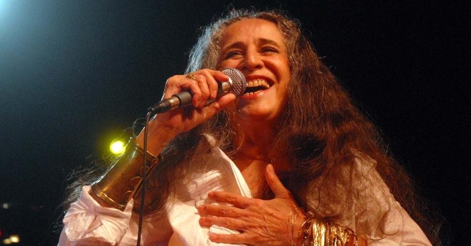 Maria Bethânia se apresenta no Rio de Janeiro (23/10/2009)
