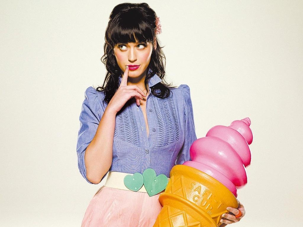 A cantora norte-americana Katy Perry