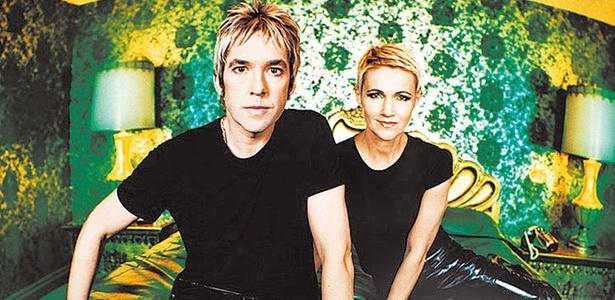 A dupla sueca do Roxette, Marie Fredriksson e Per Gessle