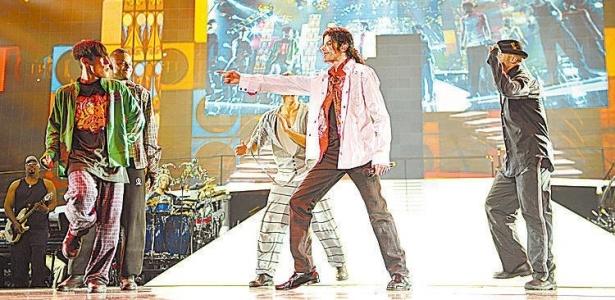 Michael Jackson em cena do filme