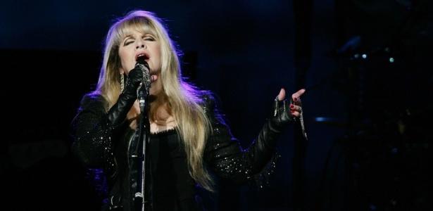 Stevie Nicks durante show do Fleetwood Mac em Sydney, Austrália (07/12/2009)