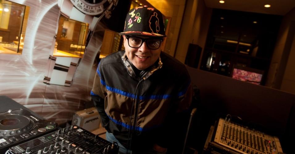 O DJ Zé Pedro em São Paulo