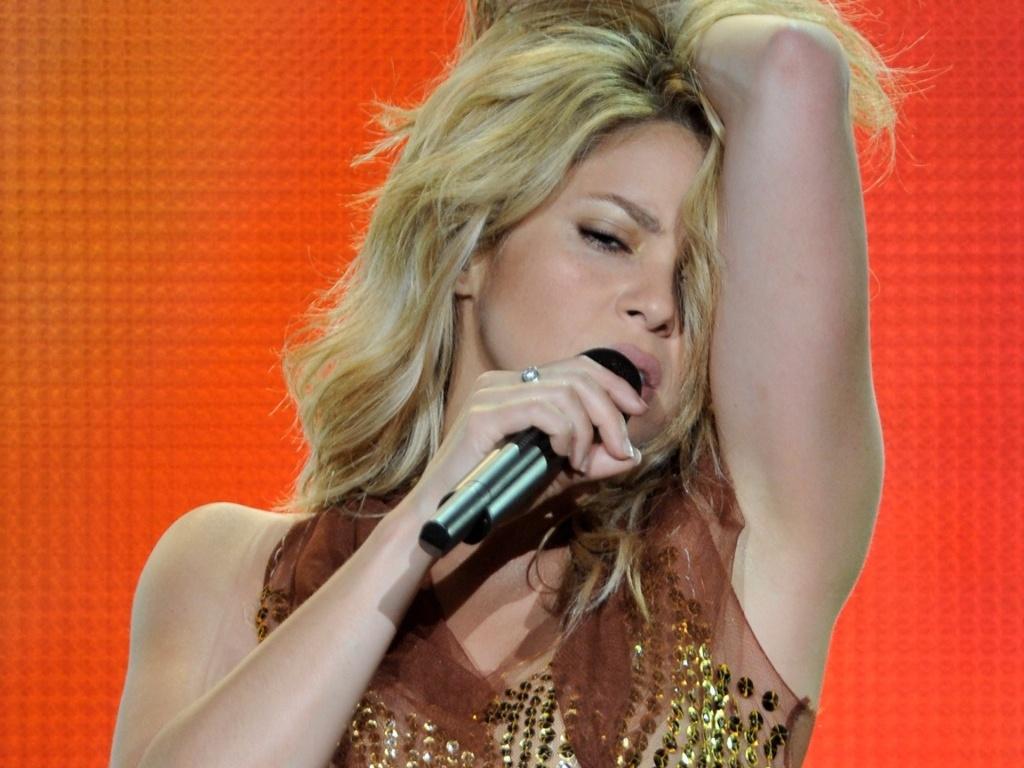 Shakira se apresenta no segundo dia do Rock in Rio Madri (05/06/2010)