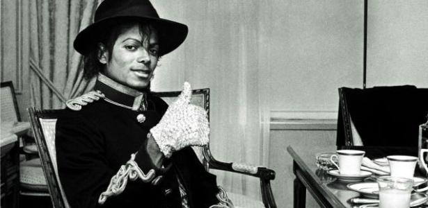 Michael Jackson posa para foto em Nova York, nos Estados Unidos (07/02/1984)