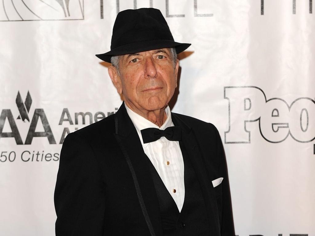 Leonard Cohen participa de evento em Nova York (17/06/2010)