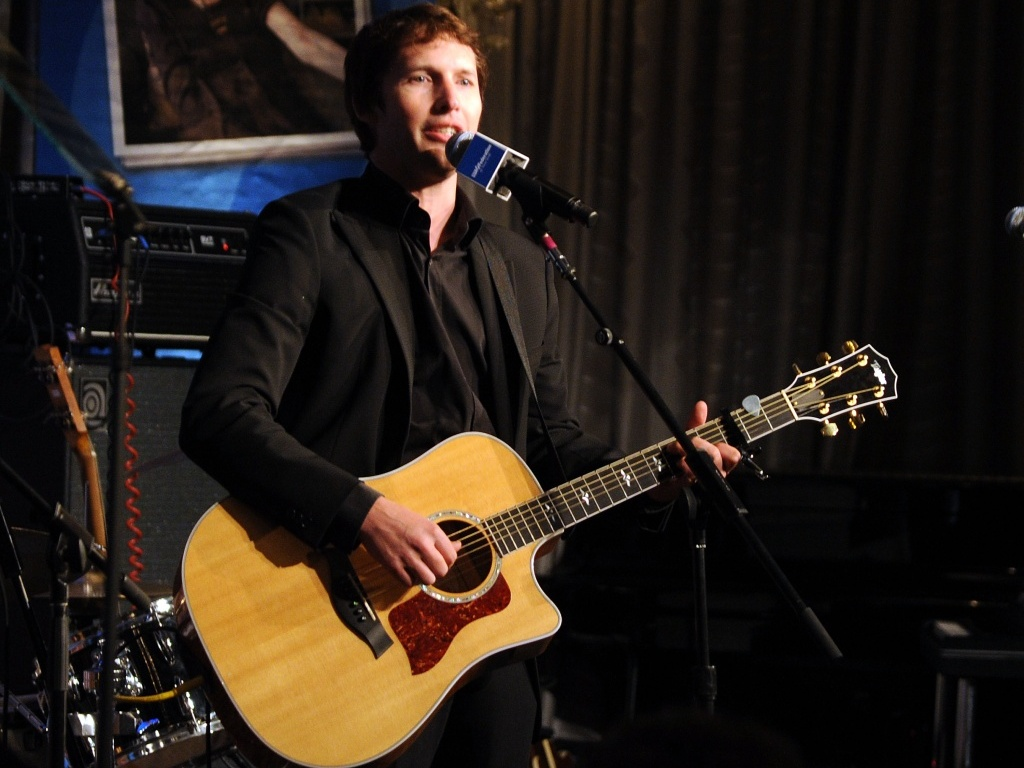 James Blunt durante apresentao no UJA Federation's 2010 no Pierre Ballroom, em Nova York (16/06/2010)