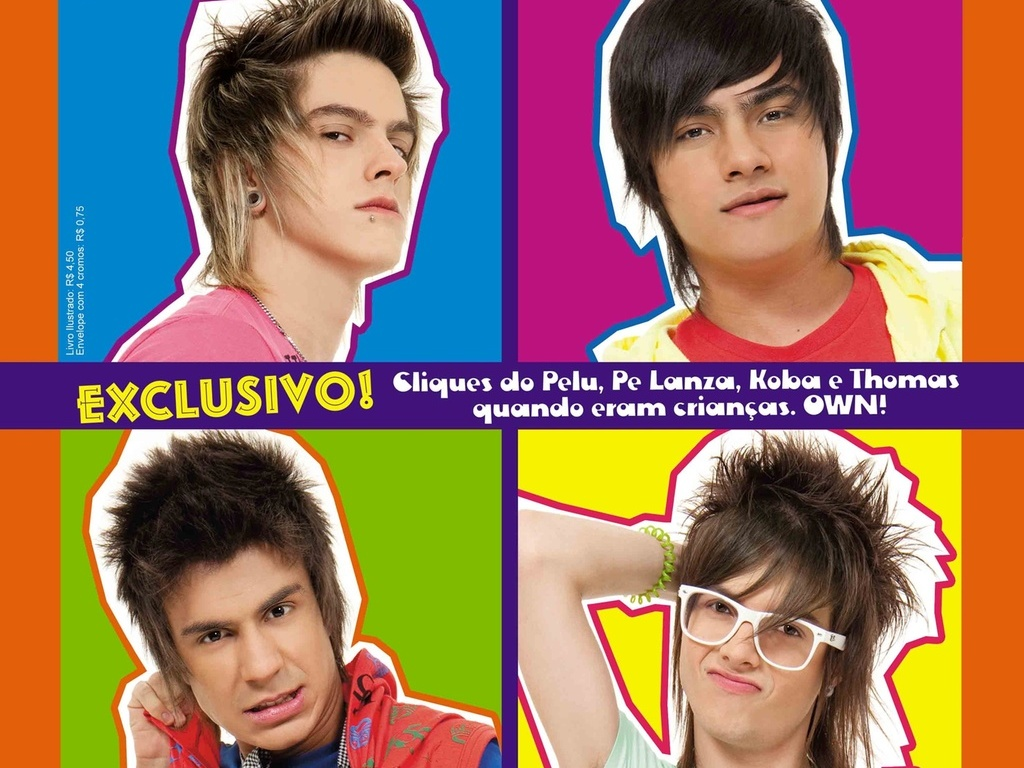 Capa do álbum de figurinhas do Restart