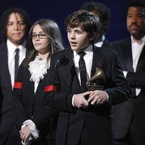 Prince Michael Jackson e Paris Jackson, filhos do cantor Michael Jackson, dão entrevista à Oprah Winfrey