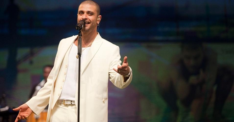 O sambista Diogo Nogueira em foto de divulgação do CD e DVD ao vivo