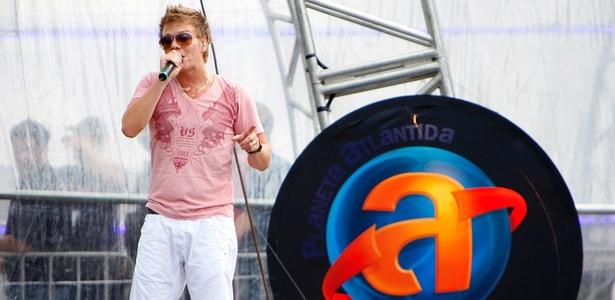 Michel Teló no primeiro dia do festival Planeta Atlântida, em Florianópolis-SC (14/1/11)