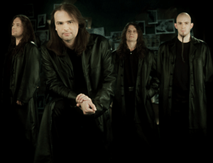 Os integrantes da banda alemã Blind Guardian