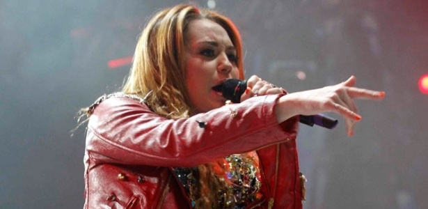 Miley Cyrus se apresenta no Rio de Janeiro