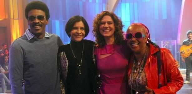 Seu Jorge, Patrícia Pillar e Sandra de Sá gravam especial