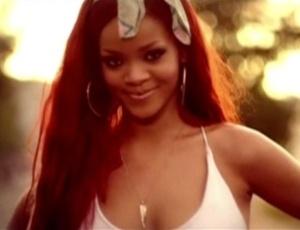 Rihanna em cena do clipe