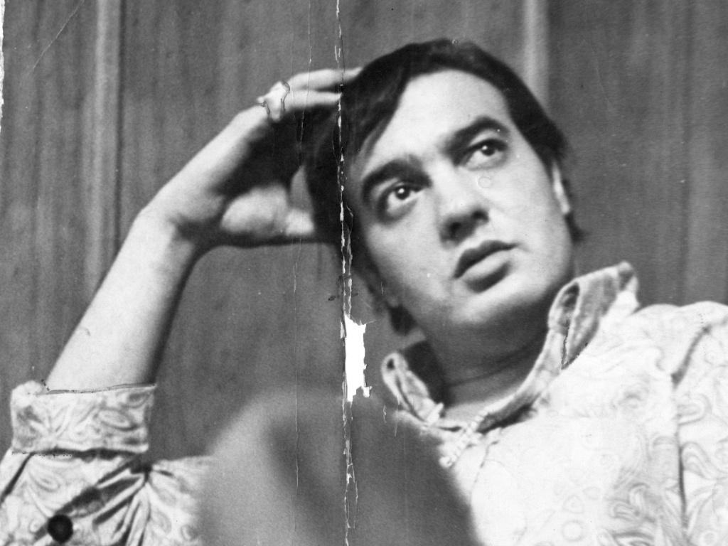 O cantor e compositor Erasmo Carlos em imagem de 1967