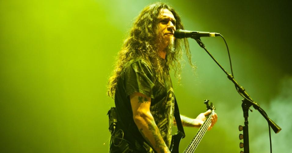 Slayer se apresenta em São Paulo, no Via Funchal (09/06/2011)