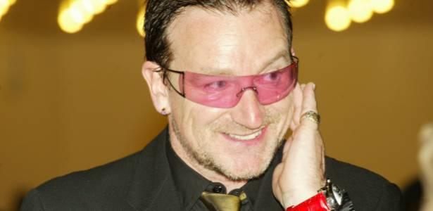 Bono em Abuja, capital da Nigéria (21/5/2006)