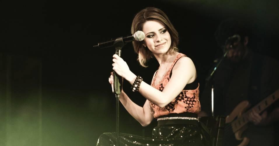 Sandy grava em DVD o show