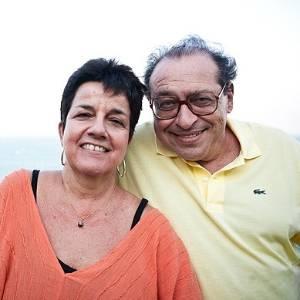 Ruy Castro e sua mulher, Heloisa Seixas