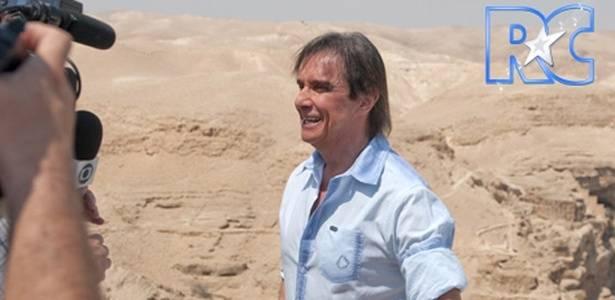 Roberto Carlos grava no deserto da Judeia (5/9/2011)