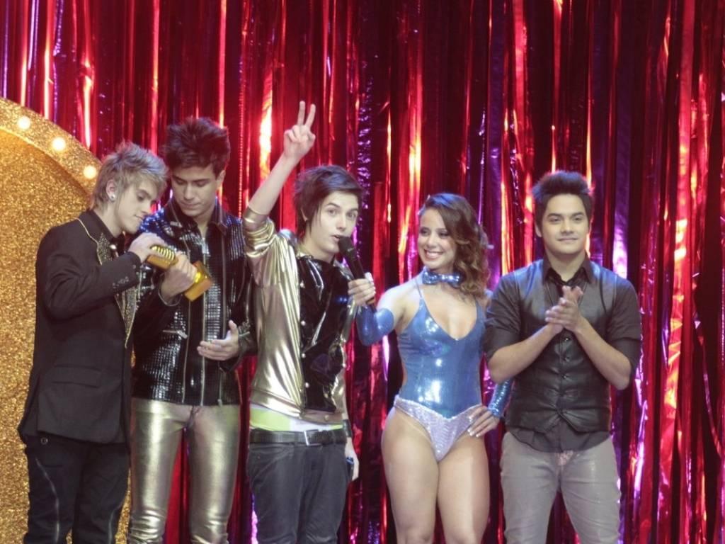Restart agradece ao Prêmio Multishow de Melhor Álbum e Melhor Clipe no HSBC Arena, no Rio de Janeiro (06/09/2011)