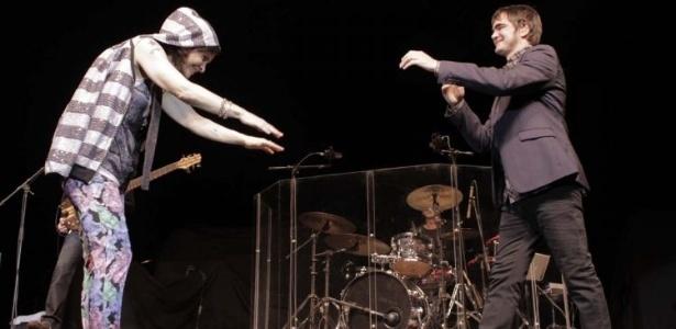 Marina Lima e Skank dividem o palco durante show em São Paulo (8/9/11)
