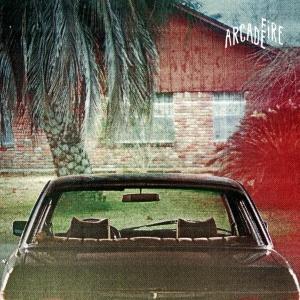 Capa do álbum The Suburbs, do Arcade Fire (2010)