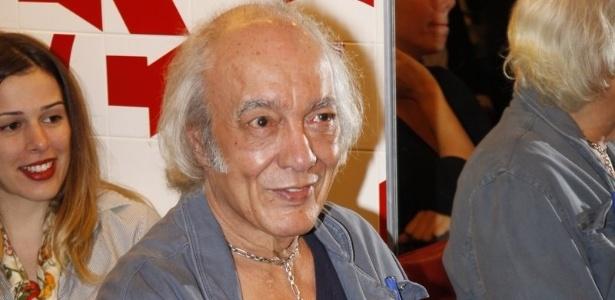 Erasmo Carlos no lançamento do clipe