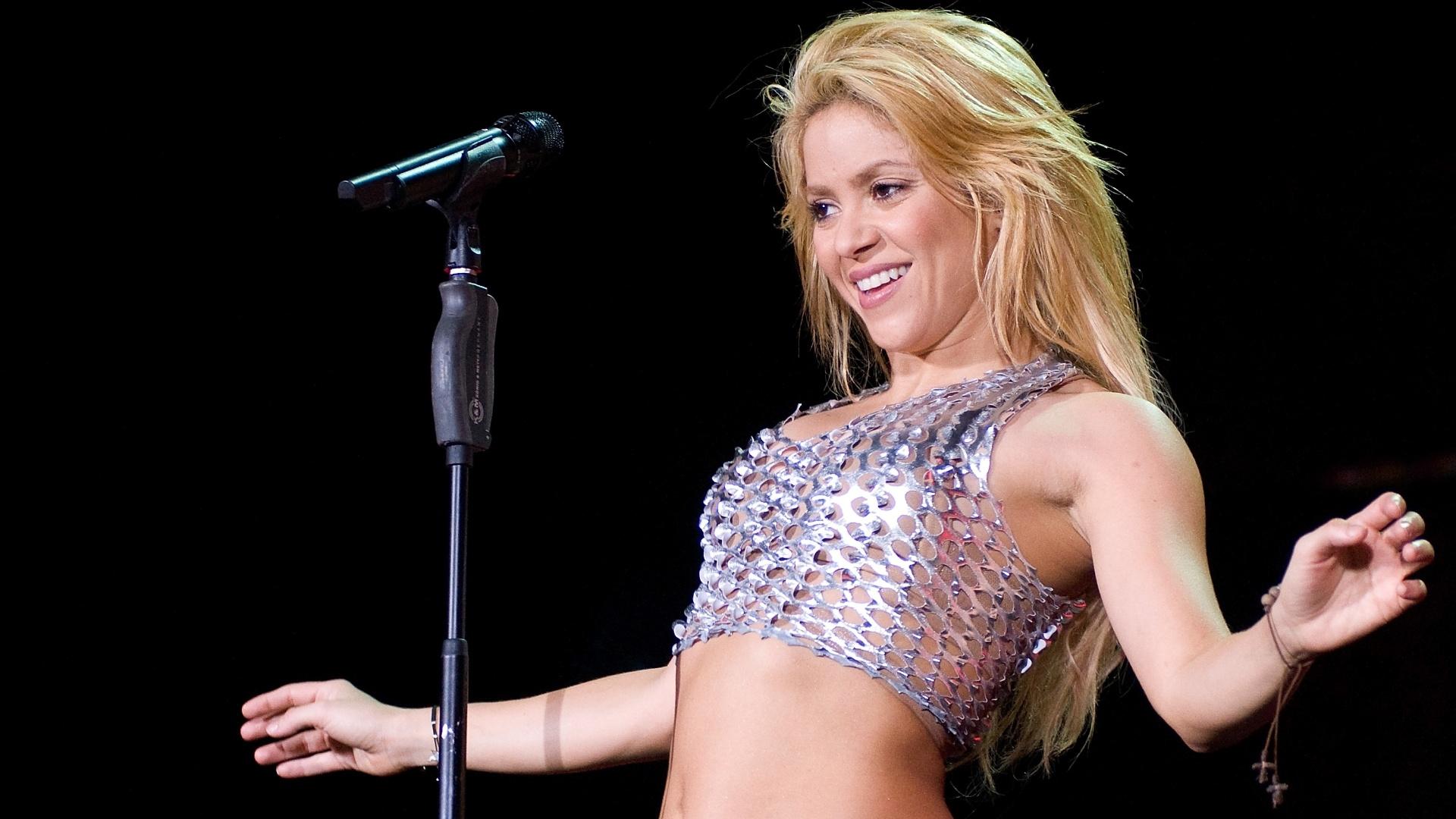 Shakira se apresenta em Barcelona (29/5/2011)