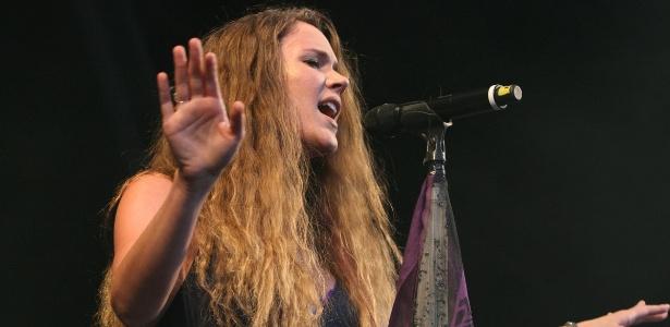 Joss Stone fecha programação do palco Sunset, no quarto dia do Rock In Rio (29/9/2011)