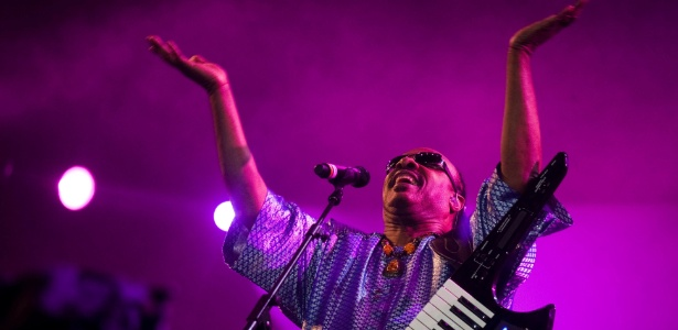 Segundo Roberto Medina, Rock in Rio quer chegar à Ásia e à América do Norte nos próximos anos. Na foto, Stevie Wonder, um dos destaques da edição brasileira de 2011