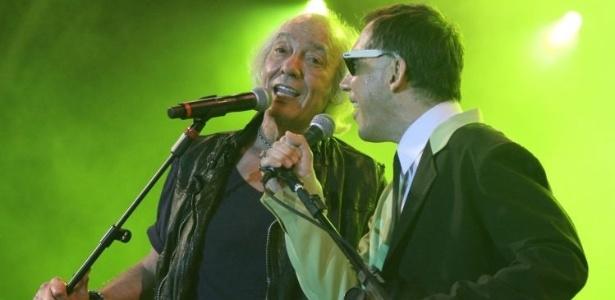 Erasmo Carlos e Arnaldo Antunes encerram programação do palco Sunset (1/10/2011)